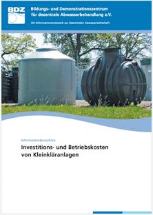 Investitions- und Betriebskosten Broschüre